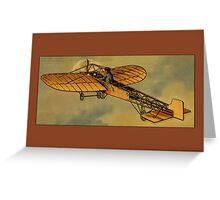 Vintage Aircraft Greetings Greeting Card