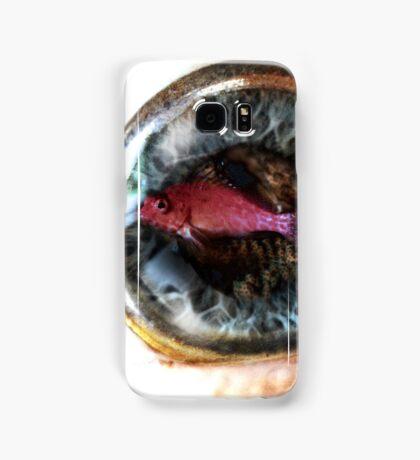 Fish-eye lens Samsung Galaxy Case/Skin