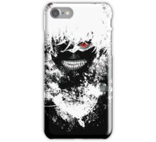 Tokyo Ghoul - The Eyepatch Ghoul (Black Version) iPhone Case/Skin