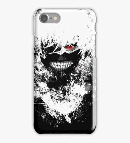 Tokyo Ghoul - The Eyepatch Ghoul (Black Version) iPhone Case/Skin
