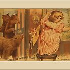 Vintage Goldilocks Greetings by Yesteryears