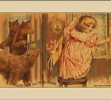 Vintage Goldilocks Greetings by Yesteryears