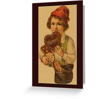 Vintage Hansel Greetings Greeting Card