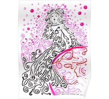 Our Benevolent Lady of the Swirling Soap Bubbles Poster