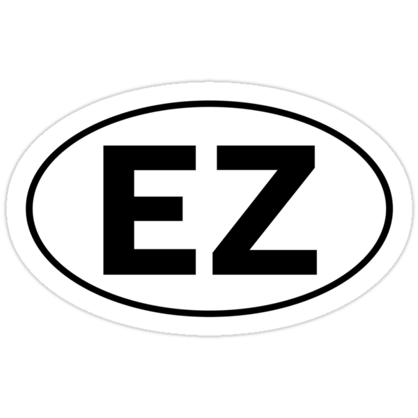 EZ - Oval Identity Sign by Ovals
