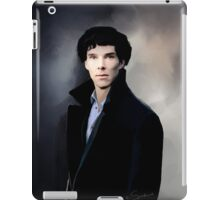 Sherlock portrait iPad Case/Skin