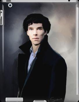 Sherlock portrait by koroa