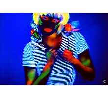 Black Light Photographic Print