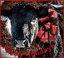 A Montana Holiday Greeting by Kay Kempton Raade