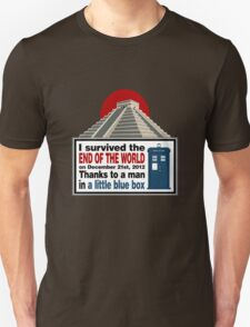 The Doctor saved us T-Shirt