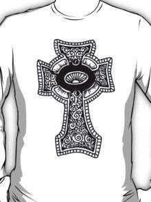 Bling Celtic Cross Lord Jesus T-Shirt