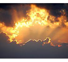Cornish Sky Photographic Print