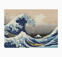 Great Wave One Piece - Short Sleeve