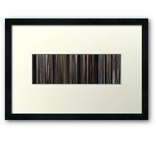 Moviebarcode: Gorky Park (1983) Framed Print