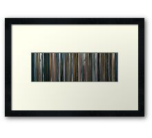 Moviebarcode: The Bad Lieutenant: Port of Call - New Orleans (2009) Framed Print
