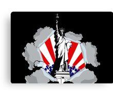 New York Liberty Statue Canvas Print
