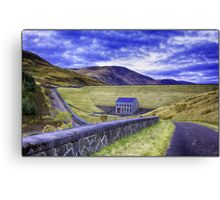 Turret  Res Canvas Print