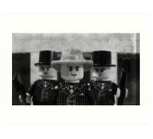 Lego Gangster Noir Art Print