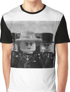 Lego Gangster Noir Graphic T-Shirt
