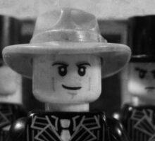 Lego Gangster Noir Sticker