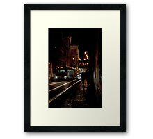 Electric Trolley Framed Print