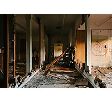 Ripped Apart Photographic Print