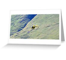 Rescue on the Peaks Greeting Card