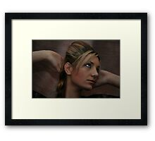 """"""" All I have to do is dream """" Framed Print"""