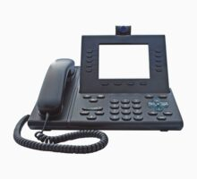 VoIP Phone with Blank Display One Piece - Short Sleeve