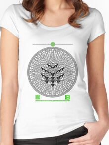 META PHI 11 BY VII23 - DEC 2012 - OFFICIAL MERCH Women's Fitted Scoop T-Shirt