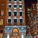 USA. New York. Manhattan. 5th Avenue Welcomes Christmas. by vadim19