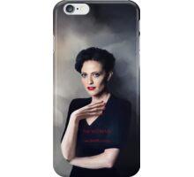 Irene Adler portrait iPhone Case/Skin