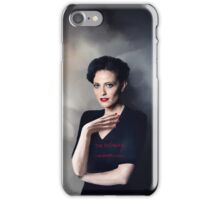 Irene Adler portrait iPhone Case/Skin