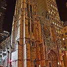 USA. New York. Manhattan. Saint Thomas Church. by vadim19