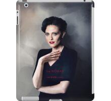 Irene Adler portrait iPad Case/Skin