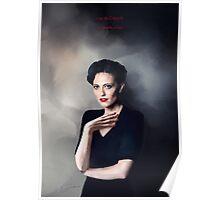 Irene Adler portrait Poster