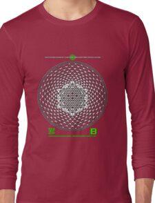META PHI 22 BY VII23 - DEC 2012 - OFFICIAL MERCH Long Sleeve T-Shirt