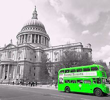 Green Routemaster by DavidWHughes
