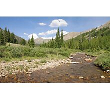 South Fork Williams Creek Photographic Print