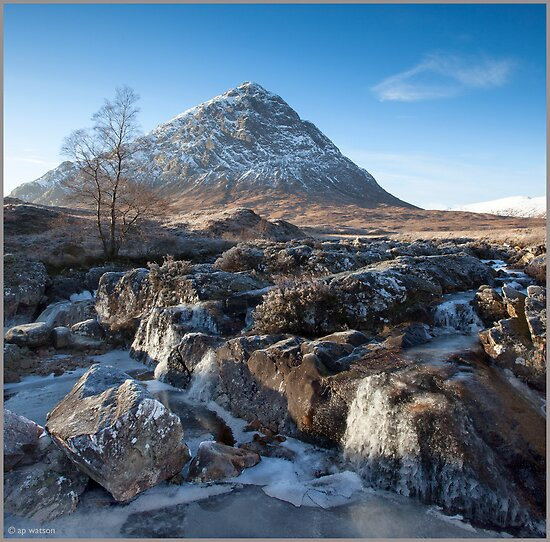 Buachaille Etive Mor by Andrew Watson
