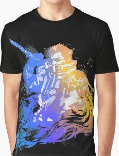 Auron Emblem (Black) Graphic T-Shirt