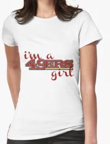 Niner Girl Womens Fitted T-Shirt