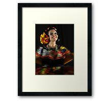Dancing - Colors And Movements - Bailando - Colores Y Movimientos Framed Print