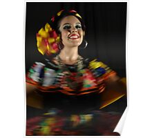 Dancing - Colors And Movements - Bailando - Colores Y Movimientos Poster