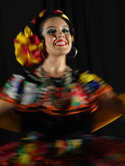 Dancing - Colors And Movements - Bailando - Colores Y Movimientos by Bernhard Matejka