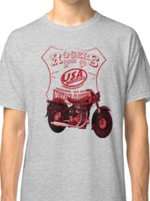 usa warriors motorcycle by rogers bros Classic T-Shirt