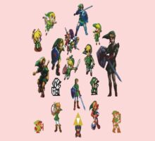 Legend of Zelda Links Kids Clothes