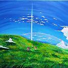 La tour au-delà des nuages by studinano