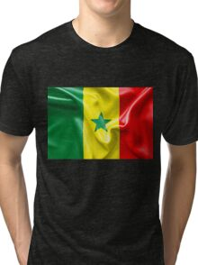 Senegal Flag Tri-blend T-Shirt