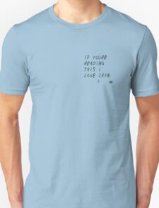 If You're Reading This I Love Zayn T-Shirt